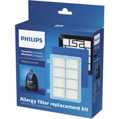 Obrázek Philips FC8010/02 souprava filtrů pro vysavače PowerPro Compact a Active