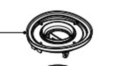 Obrázek Držák filtru 422245949351 pro vysavač Philips