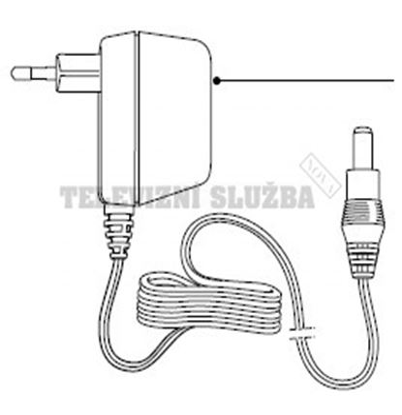Obrázek Adaptér pro strojek Philips HP2841 => 420303551810