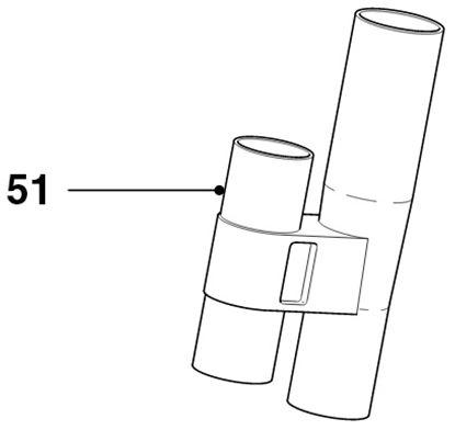Obrázek Držák příslušenství 432200425201 vysavače Philips