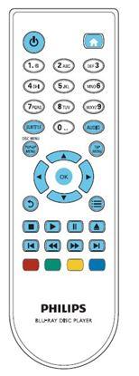 Obrázek Dálkový ovladač DVD - Philips BDP2900/12