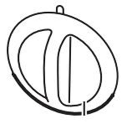 Obrázek Knoflík řízení teploty 420303602341 - gril Philips