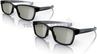 Obrázek 3D pasivní brýle Philips PTA436/00 - set 2ks Gamin
