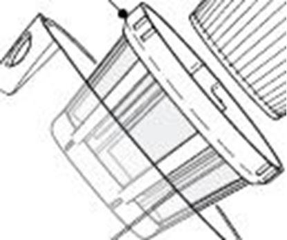 Obrázek Filtr síťový pro Philips FC6095