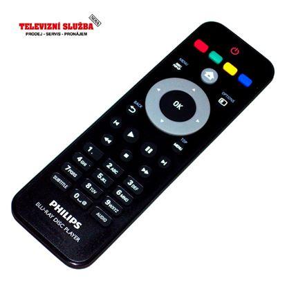 Obrázek Dálkový ovladač DVD - Philips BDP5100/12  NELZE